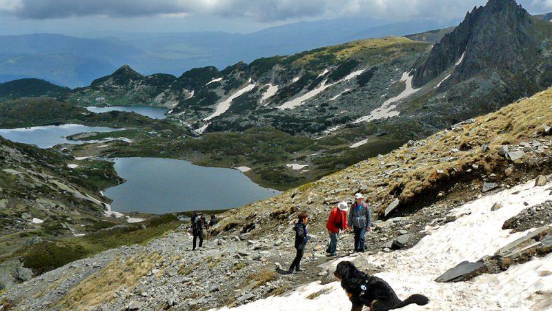 Seven Rila Lakes panorama